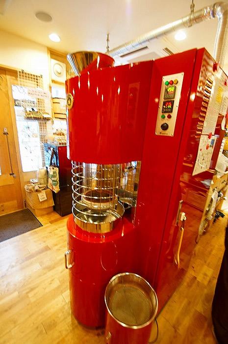 自動焙煎機